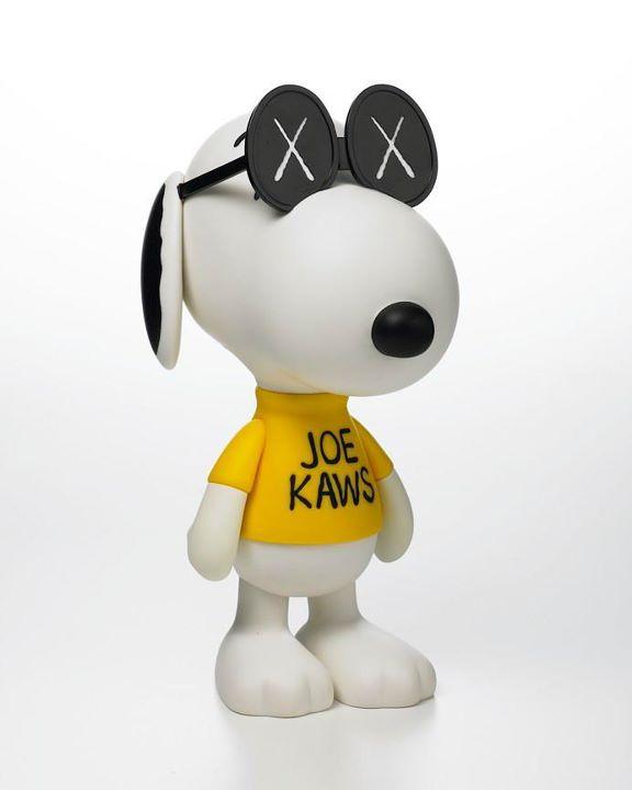 KAWS X PEANUTS L JOE KNOWS CLOUT MAGAZINE - Free invoicing tool kaws online store