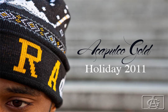 acapulco gold 2011 holiday lookbook 01 ACAPULCO GOLD HOLIDAY 2011
