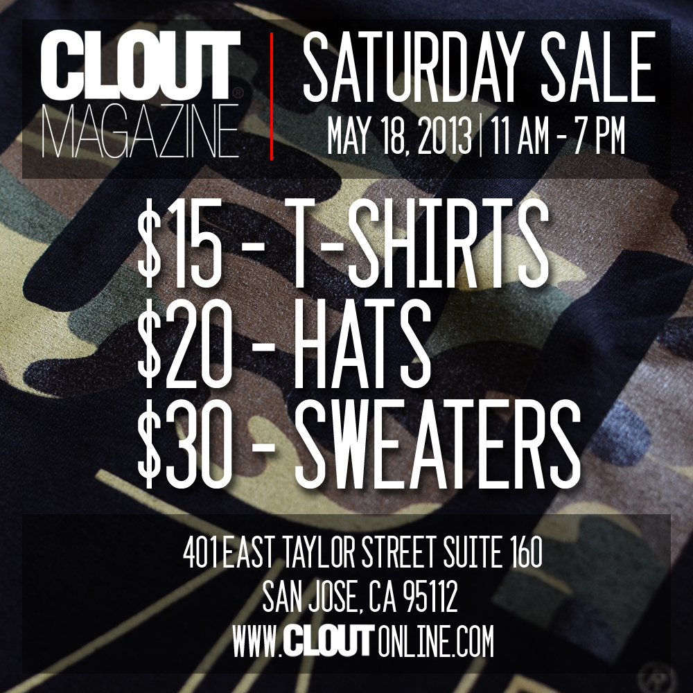 clout-saturday-sale