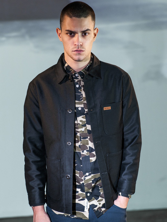 Carhartt camo shirt black overshirt
