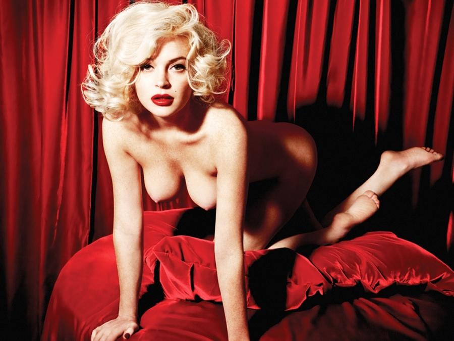 Lindsay lohan nue marilyn monroe photos