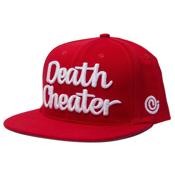 Snapback-death_cheater_benny_diar_red