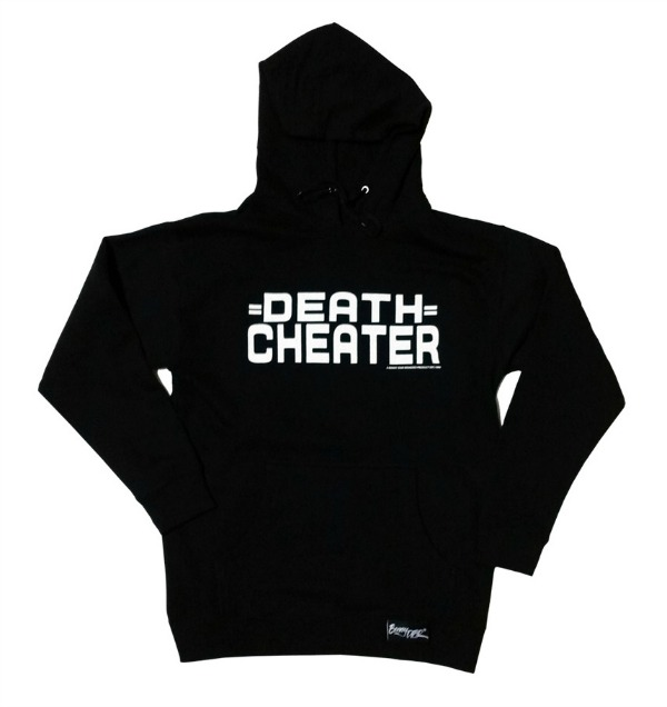 ,,, dc logo death cheater hoodie