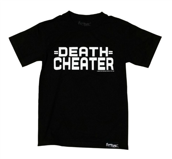 ,,, dc logo death cheater shirt